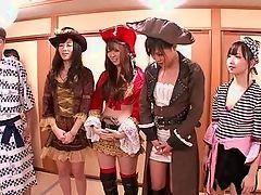Сексуальная пиратская порно вечеринка